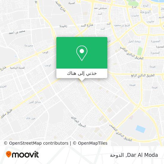 خريطة Dar Al Moda
