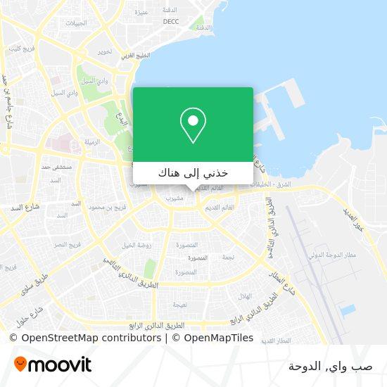 خريطة صب واي