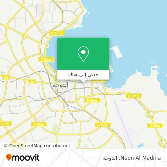 خريطة Neon Al Madina