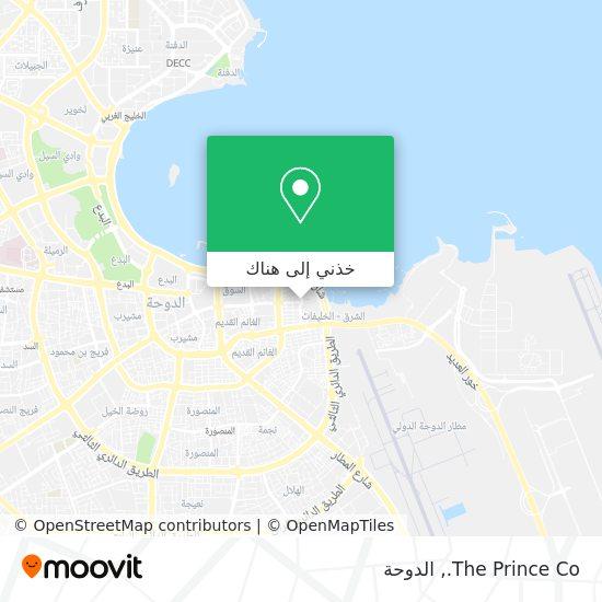 خريطة The Prince Co.