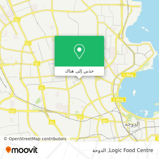 خريطة Logic Food Centre