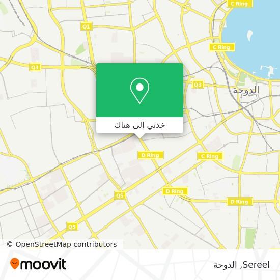 خريطة Sereel