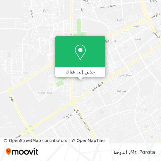 خريطة Mr. Porota