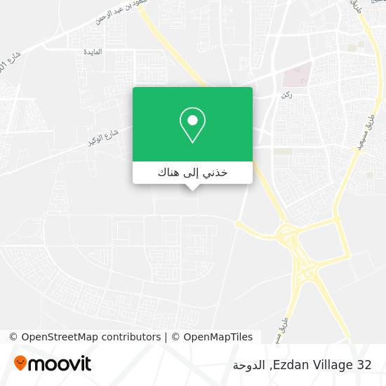 خريطة Ezdan Village 32