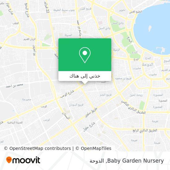 خريطة Baby Garden Nursery