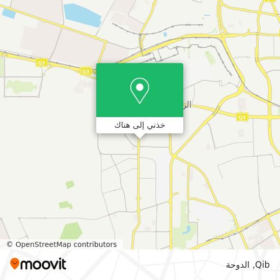 خريطة Qib