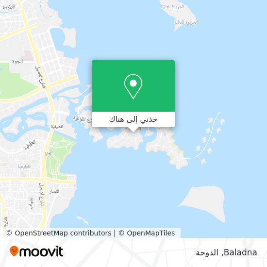 خريطة Baladna