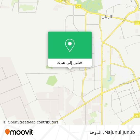 خريطة Majunul Junub