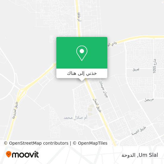 خريطة Um Slal
