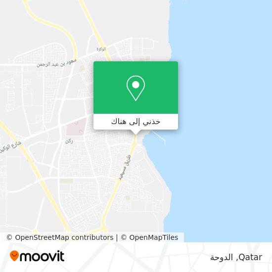 خريطة Qatar