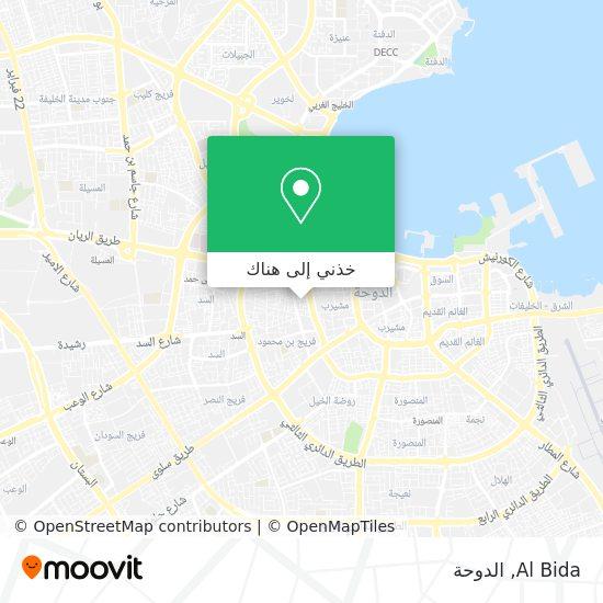 خريطة Al Bida