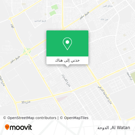 خريطة Al Watan