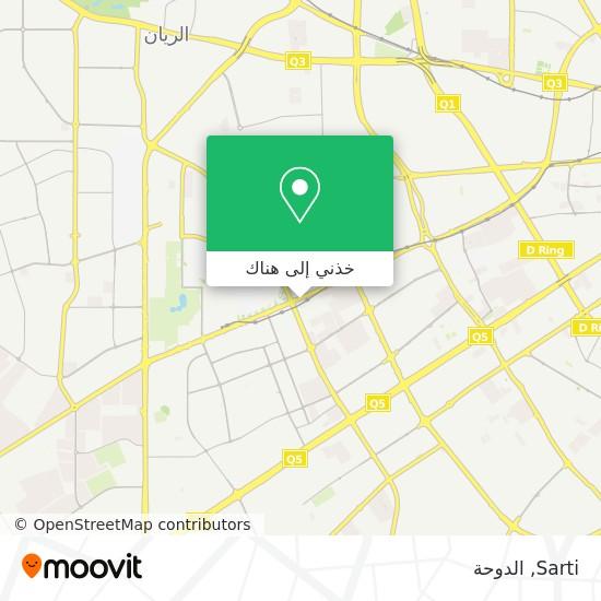 خريطة Sarti