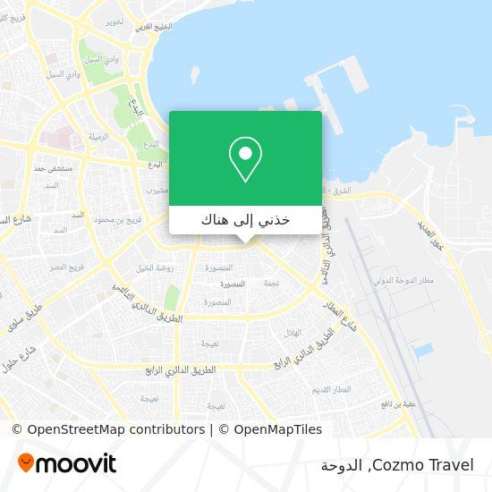خريطة Cozmo Travel