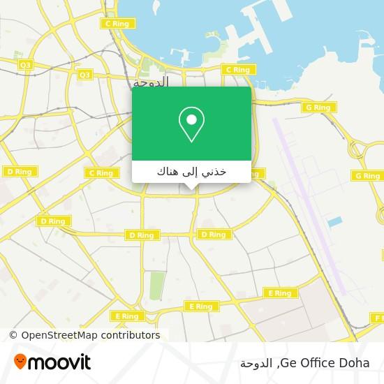 خريطة Ge Office Doha