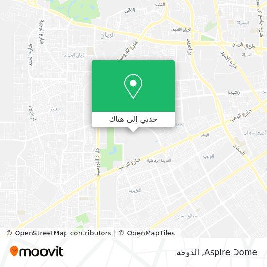خريطة Aspire Dome