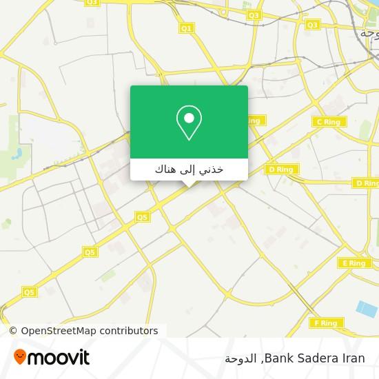 خريطة Bank Sadera Iran