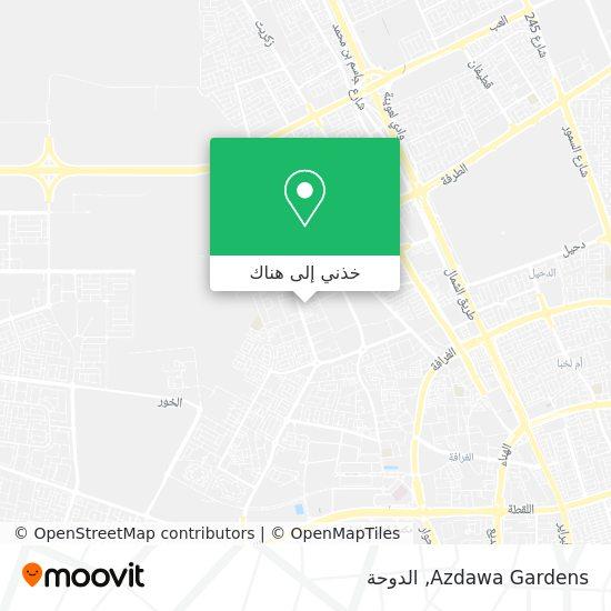 خريطة Azdawa Gardens