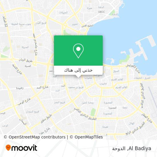 خريطة Al Badiya