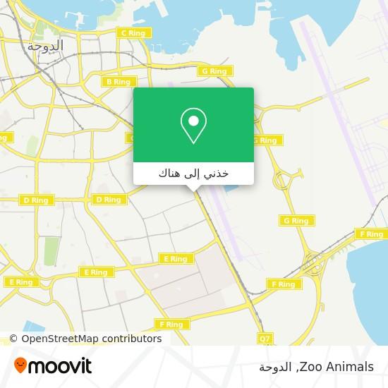 خريطة Zoo Animals