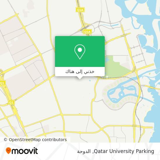 خريطة Qatar University Parking