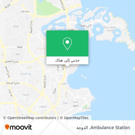 خريطة Ambulance Station