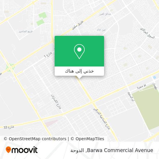 خريطة Barwa Commercial Avenue