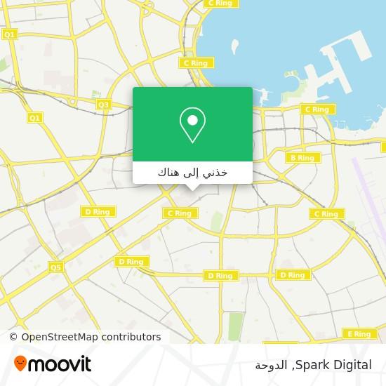 خريطة Spark Digital