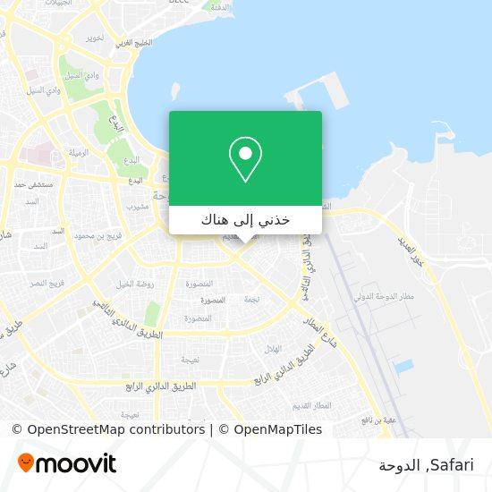 خريطة Safari
