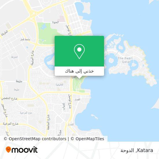 خريطة Katara