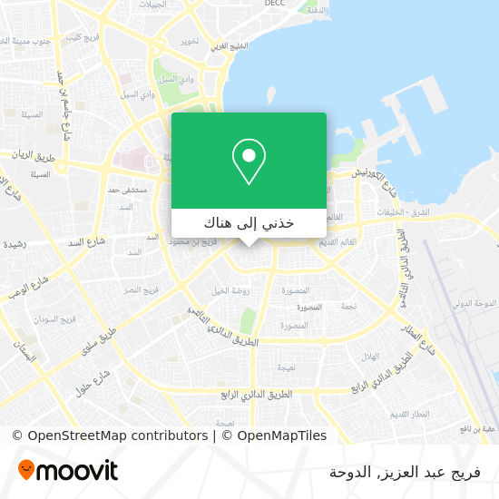 خريطة فريج عبد العزيز