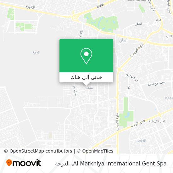 خريطة Al Markhiya International Gent Spa