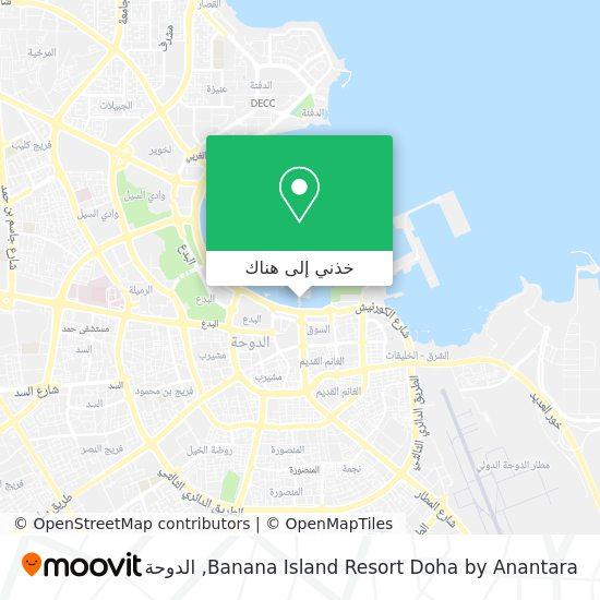 خريطة Banana Island Resort Doha by Anantara