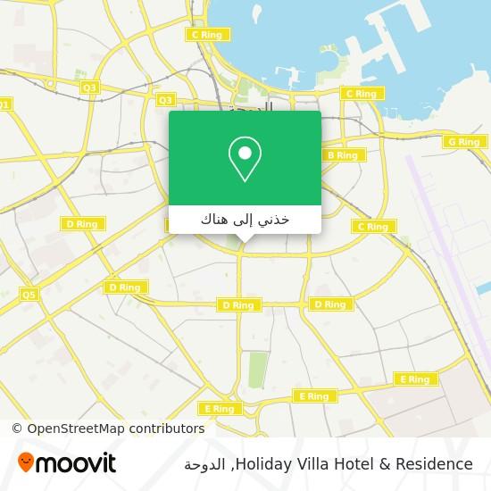 خريطة Holiday Villa Hotel & Residence