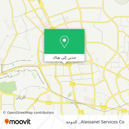 خريطة Alassanel Services Co.