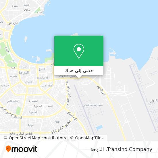 خريطة Transind Company