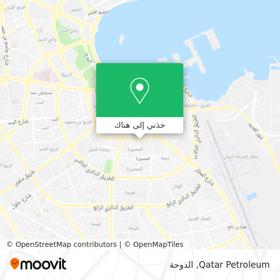 خريطة Qatar Petroleum
