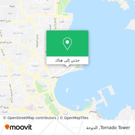 خريطة Tornado Tower