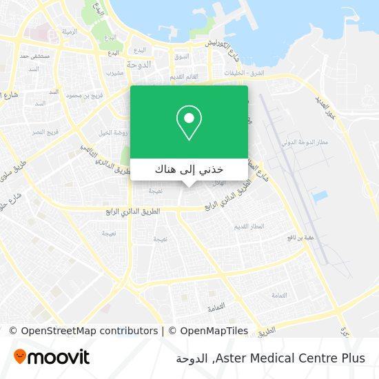 خريطة Aster Medical Centre Plus
