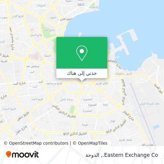 خريطة Eastern Exchange Co.