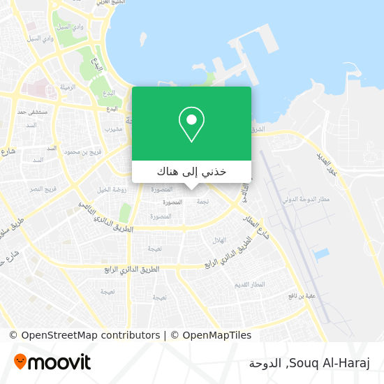 خريطة Souq Al-Haraj