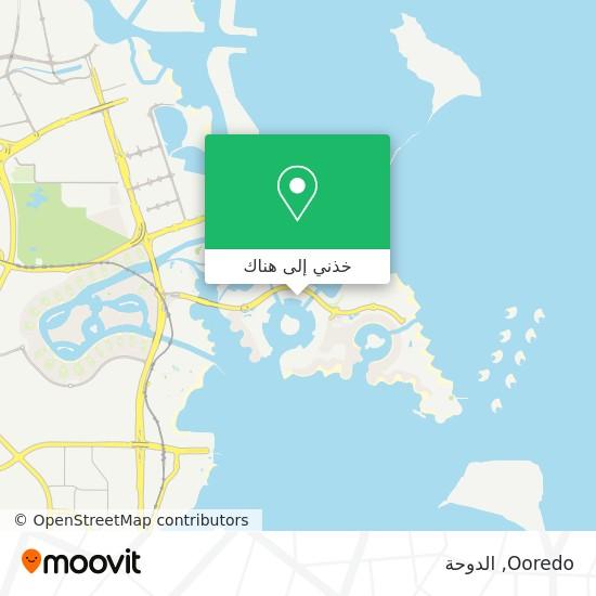 خريطة Ooredo