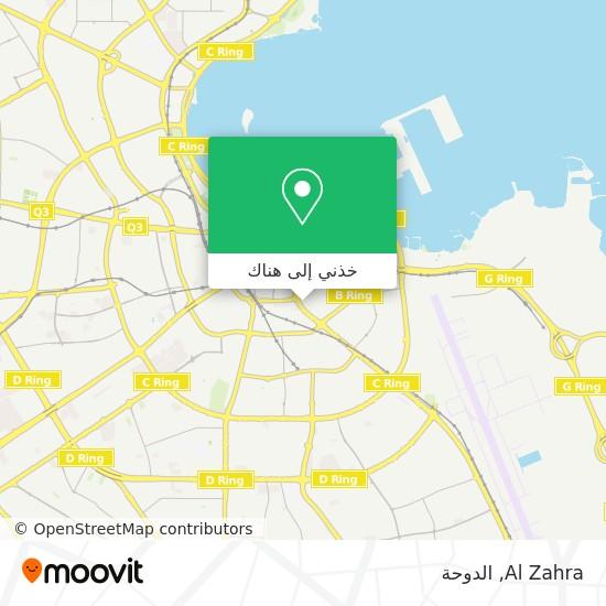 خريطة Al Zahra
