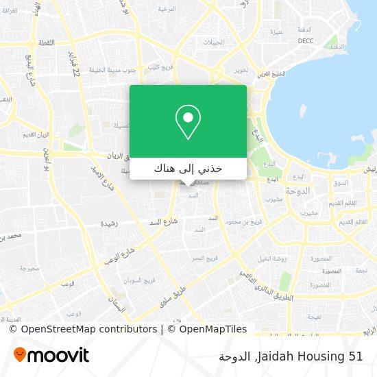 خريطة Jaidah Housing 51