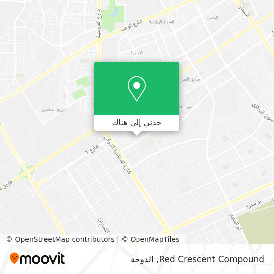 خريطة Red Crescent Compound