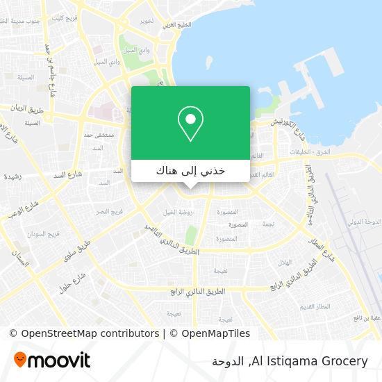 خريطة Al Istiqama Grocery
