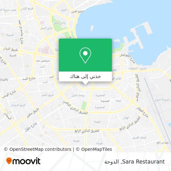 خريطة Sara Restaurant