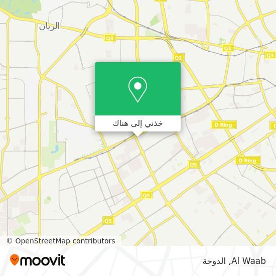 خريطة Al Waab