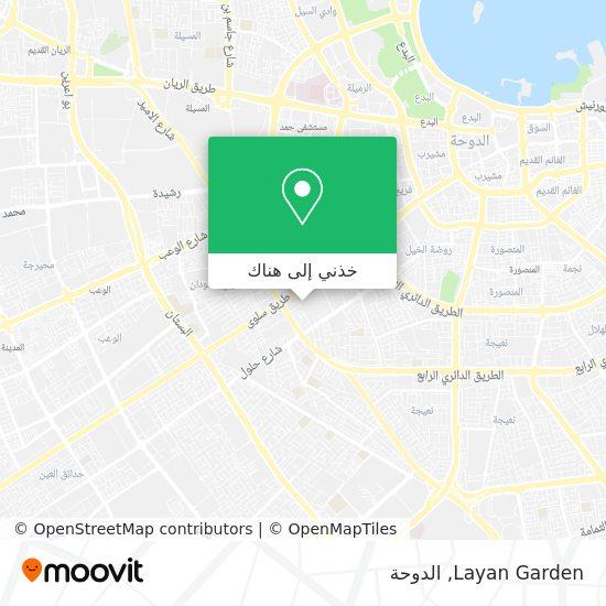 خريطة Layan Garden
