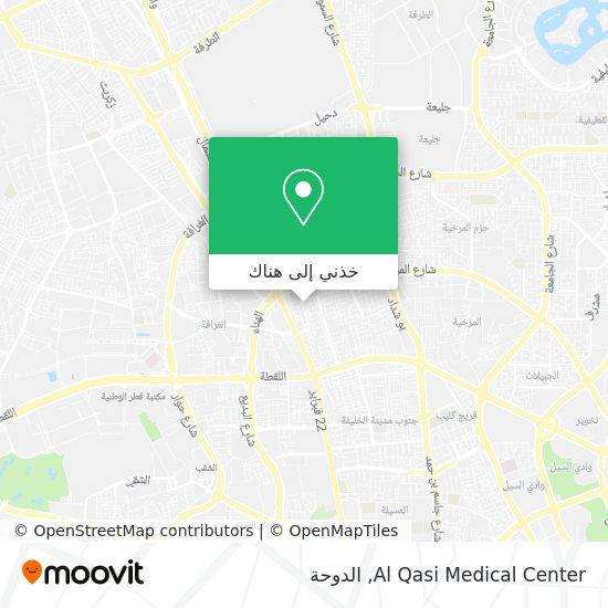خريطة Al Qasi Medical Center